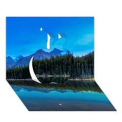 HERBERT LAKE Apple 3D Greeting Card (7x5)