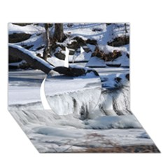 FROZEN CREEK Apple 3D Greeting Card (7x5)
