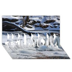 FROZEN CREEK #1 MOM 3D Greeting Cards (8x4)