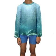 CRATER LAKE NATIONAL PARK Kid s Long Sleeve Swimwear
