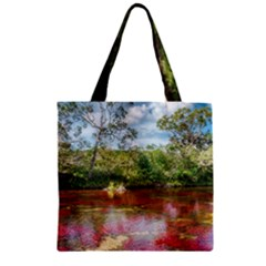 CANO CRISTALES 3 Zipper Grocery Tote Bags