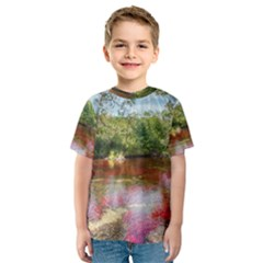 CANO CRISTALES 3 Kid s Sport Mesh Tees