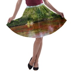 CANO CRISTALES 3 A-line Skater Skirt