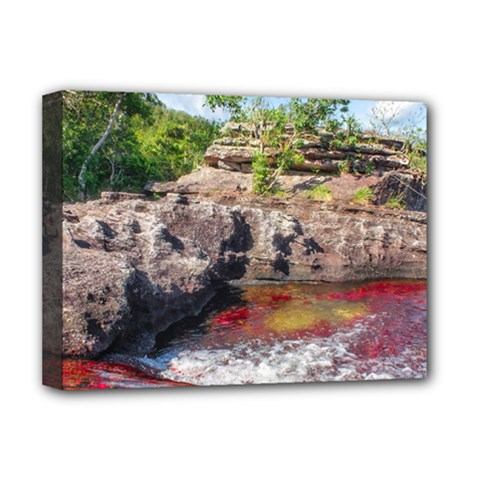 CANO CRISTALES 2 Deluxe Canvas 16  x 12