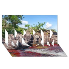 CANO CRISTALES 2 MOM 3D Greeting Card (8x4)