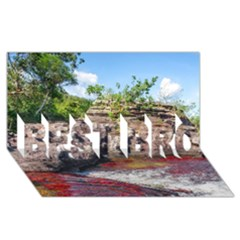 Cano Cristales 2 Best Bro 3d Greeting Card (8x4)