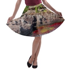 CANO CRISTALES 2 A-line Skater Skirt