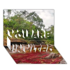 Cano Cristales 1 You Are Invited 3d Greeting Card (7x5)