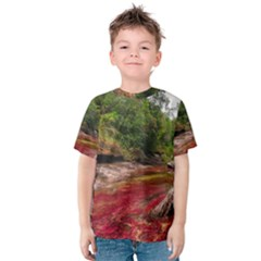 CANO CRISTALES 1 Kid s Cotton Tee