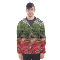 CANO CRISTALES 1 Hooded Wind Breaker (Men)