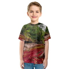 Cano Cristales 1 Kid s Sport Mesh Tees