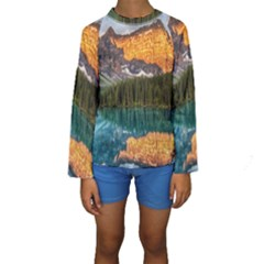 BANFF NATIONAL PARK 4 Kid s Long Sleeve Swimwear