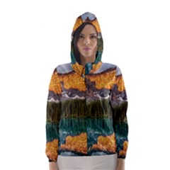 BANFF NATIONAL PARK 4 Hooded Wind Breaker (Women)