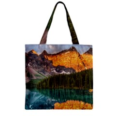 BANFF NATIONAL PARK 4 Zipper Grocery Tote Bags