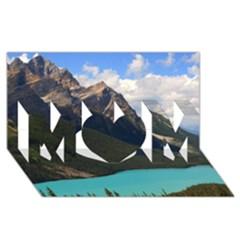 BANFF NATIONAL PARK 3 MOM 3D Greeting Card (8x4)