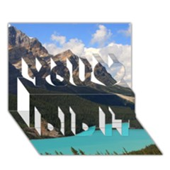 Banff National Park 3 You Did It 3d Greeting Card (7x5)