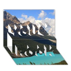 BANFF NATIONAL PARK 3 You Rock 3D Greeting Card (7x5)