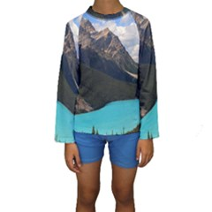 Banff National Park 3 Kid s Long Sleeve Swimwear