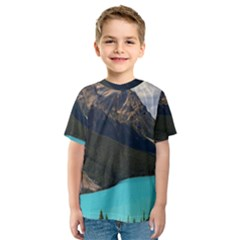 Banff National Park 3 Kid s Sport Mesh Tees