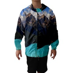 Banff National Park 3 Hooded Wind Breaker (kids)