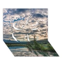 BANFF NATIONAL PARK 2 Clover 3D Greeting Card (7x5)