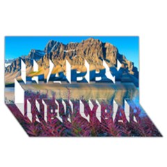BANFF NATIONAL PARK 1 Happy New Year 3D Greeting Card (8x4)