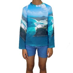 WHITEHAVEN BEACH 2 Kid s Long Sleeve Swimwear