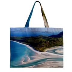 WHITEHAVEN BEACH 1 Tiny Tote Bags