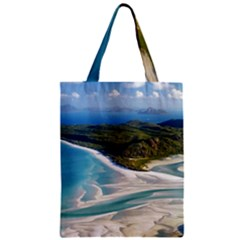 WHITEHAVEN BEACH 1 Classic Tote Bags