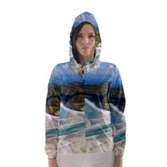 Whitehaven Beach 1 Hooded Wind Breaker (women)