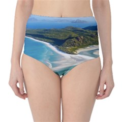 WHITEHAVEN BEACH 1 High-Waist Bikini Bottoms