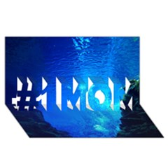 UNDERWATER TRENCH #1 MOM 3D Greeting Cards (8x4)