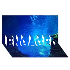Underwater Trench Engaged 3d Greeting Card (8x4)