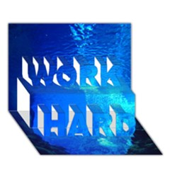 UNDERWATER TRENCH WORK HARD 3D Greeting Card (7x5)
