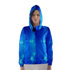 UNDERWATER TRENCH Hooded Wind Breaker (Women)