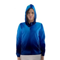 UNDERWATER SUNLIGHT Hooded Wind Breaker (Women)