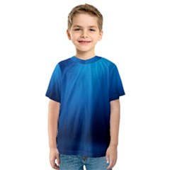 Underwater Sunlight Kid s Sport Mesh Tees