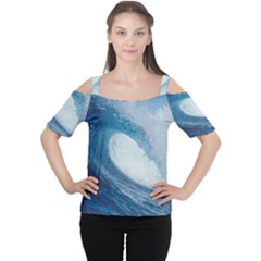 Ocean Wave 2 Women s Cutout Shoulder Tee