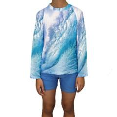 OCEAN WAVE 1 Kid s Long Sleeve Swimwear