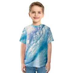 OCEAN WAVE 1 Kid s Sport Mesh Tees