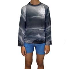 OCEAN STORM Kid s Long Sleeve Swimwear