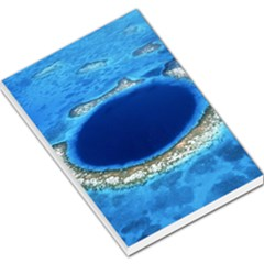 GREAT BLUE HOLE 2 Large Memo Pads