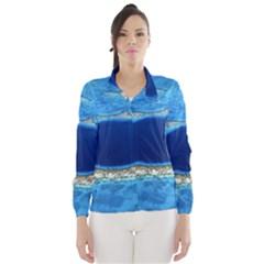 GREAT BLUE HOLE 2 Wind Breaker (Women)
