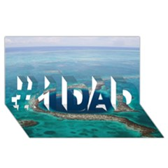 Great Blue Hole 1 #1 Dad 3d Greeting Card (8x4)