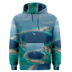 GREAT BLUE HOLE 1 Men s Pullover Hoodies