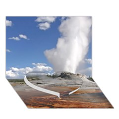 Yellowstone Castle Heart Bottom 3d Greeting Card (7x5)