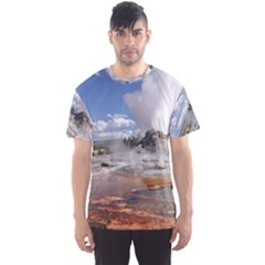 YELLOWSTONE CASTLE Men s Sport Mesh Tees