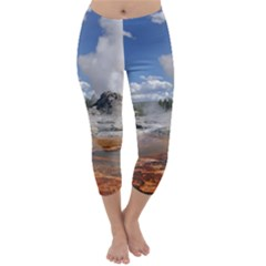 YELLOWSTONE CASTLE Capri Winter Leggings
