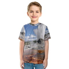 YELLOWSTONE CASTLE Kid s Sport Mesh Tees
