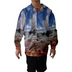 YELLOWSTONE CASTLE Hooded Wind Breaker (Kids)
